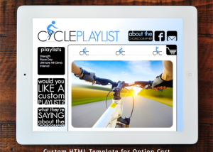 Cycleplaylist.com Option Cart Custom Template
