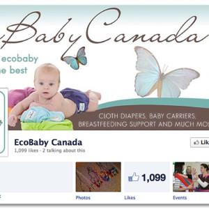 Facebook Design - Ecobaby