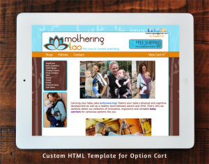Mothering Tao Option Cart Custom Template