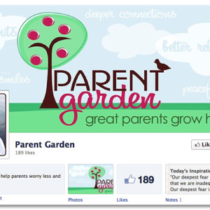 Facebook Design - Parent Garden