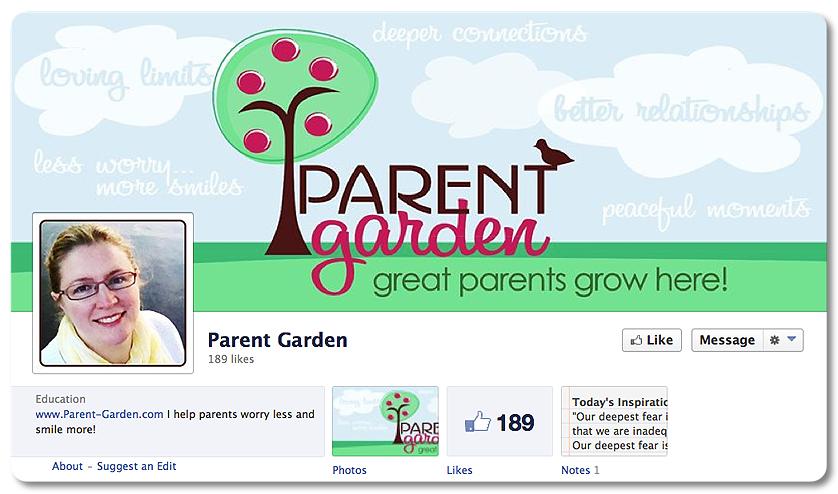 Facebook Design - Parent Garden