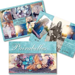 Postcard Design - Pairabelles