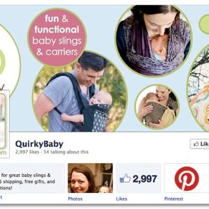 Facebook Design - QuirkyBaby