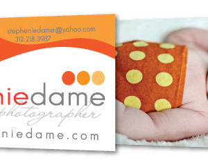 Business Card Design - Stephenie Dame Photography