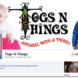 Facebook Design - Togs 'n Things