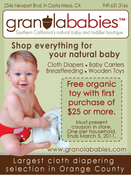 Magazine Ad - Granola Babies