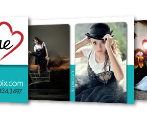 Kaelene Renae Photography Business Cards, multiple back designs