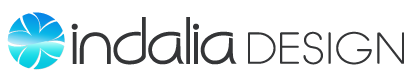 Indalia Design: Boutique Graphic Design Studio, Logo Design and Branding, Print and Web Design for Small Business Logo