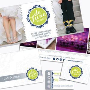 Deluxe Events & Weddings Marketing Materials