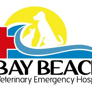 Bay Beach Veterinary Emergency Hospital Logo Design