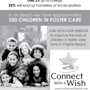 Connect With a Wish Newspaper Ad