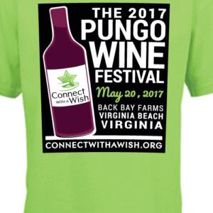 Wine Festival Event T-Shirt Design