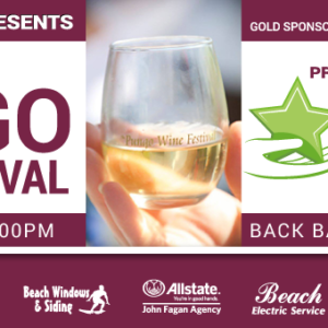 Wine Festival Benefit Facebook Cover Image Design