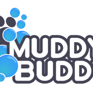 Muddy Buddy Dog Wash Logo Design