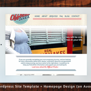 Offbeat Doula - Wordpress Template & Home Page Design on Avada
