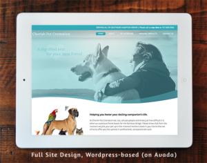 Cherish Pet Creation - Full Site Design, WordPress-based